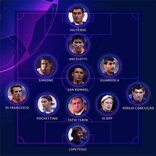 UEFA ilk 11ine Fatih Terimi seçti