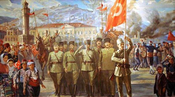 9 Eylül İzmirin Kurtuluşunun 96. yıldönümü İşte İzmirin kurtuluş hikayesi