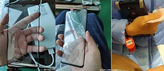 Huawei Mate 20 ve Mate 20 Pronun ön paneli internete düştü