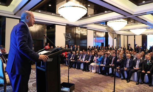 Son Dakika... Cumhurbaşkanı Erdoğandan dolar açıklaması: Yavaş yavaş son vermemiz gerekiyor