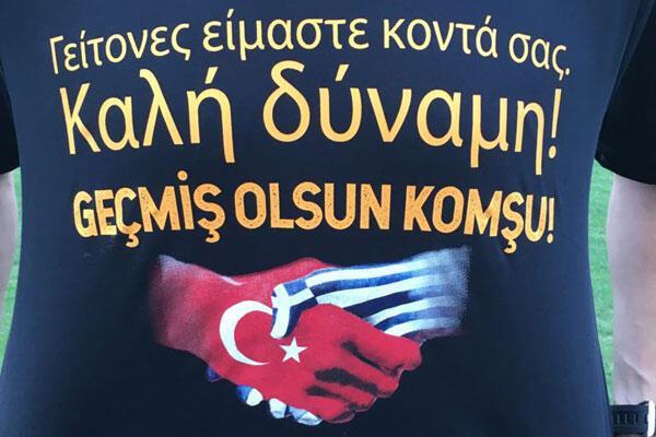 Galatasaray: Geçmiş olsun Komşu