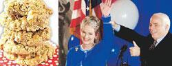 Kurabiyeyi güzel yapan first lady olur