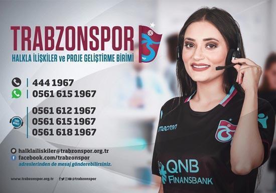 Trabzonsporda halkla ilişkiler ve proje geliştirme birimi  oluşturuldu