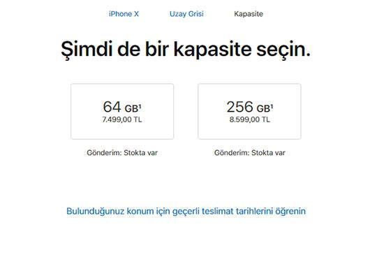 iPhone X fiyatlarına rekor zam geldi