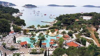 Dubrovnik, Hvar ve Split