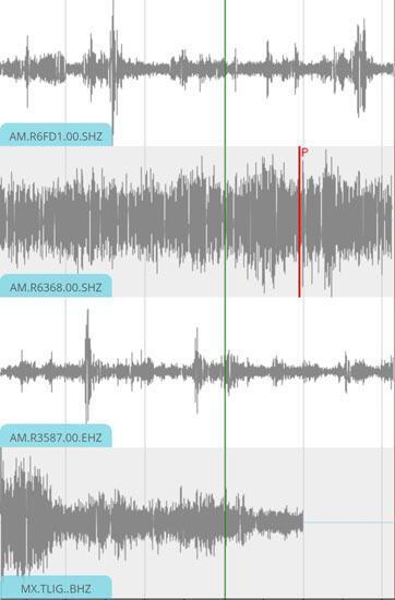Meksikada gol anında deprem