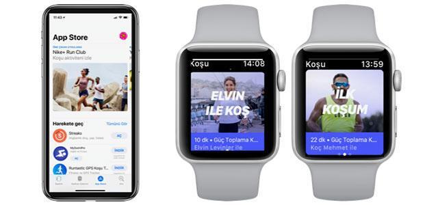 Apple Watch ile yaza formda girin