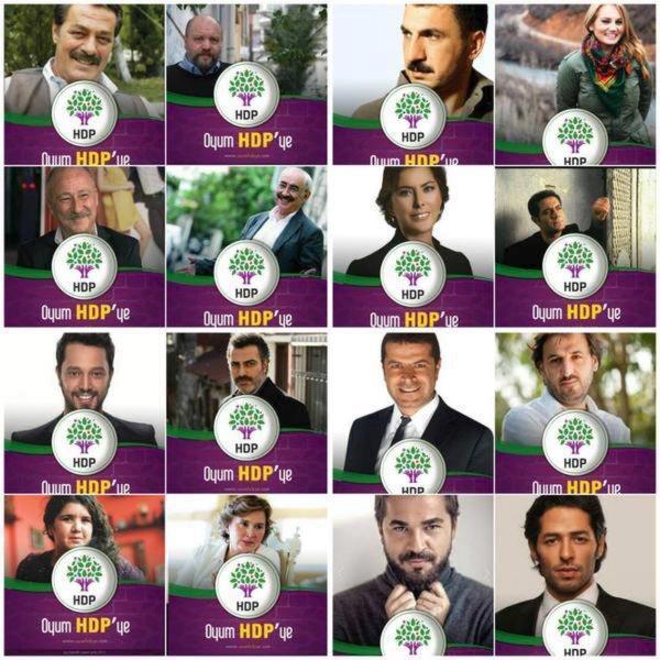 Nazlı Ilıcak ve Murat Bozlu kampanya için HDPden açıklama