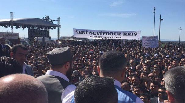 İzmirde Sedat Peker izdihamı