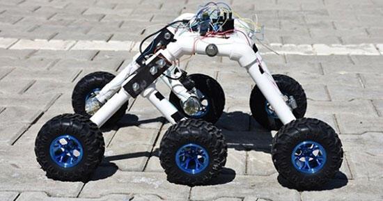 Dört Türk öğrenci beyin dalgalarıyla hareket edebilen mini araç tasarladı