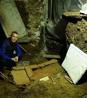 Beyoğlunun altında 1500 yıllık Bizans mezarları çıktı