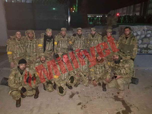 Son dakika: Sınırda sıcak saatler ÖSO kuvvetlerinin koluna sarı bant takıldı...