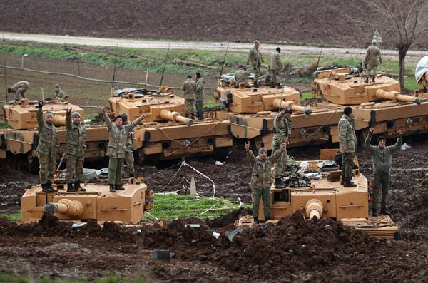 Son dakika... YPGye ağır darbe Zeytin Dalı Harekatında son durum...