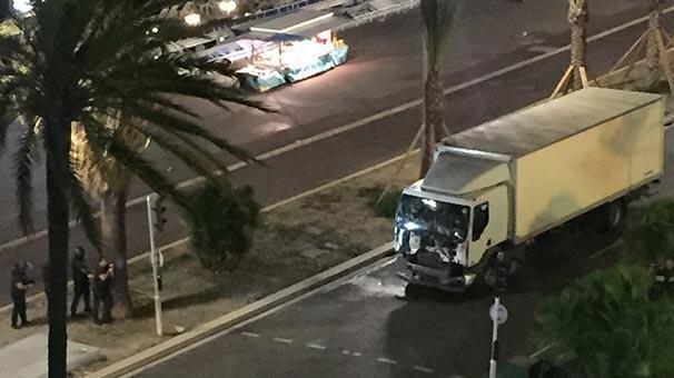 Fransada terör saldırısı : 84 ölü,100 yaralı
