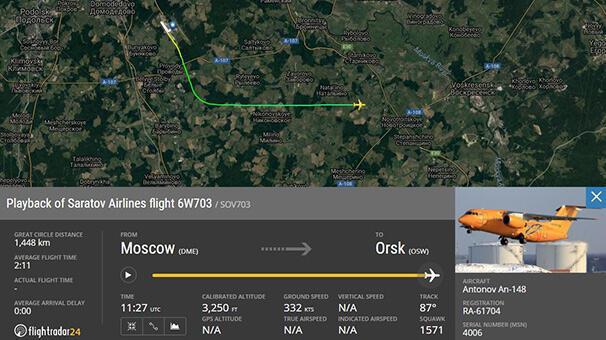 Son dakika... Rusyada dehşet 71 kişilik yolcu uçağı Moskovada düştü