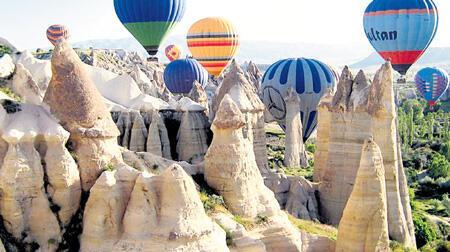 Hollywood ve Paris Kapadokya'yı keşfetti