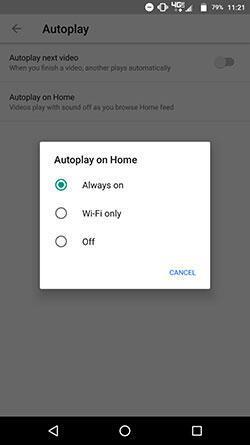 YouTubeun Android sürümüne yeni özellik: Ana sayfada otomatik oynat