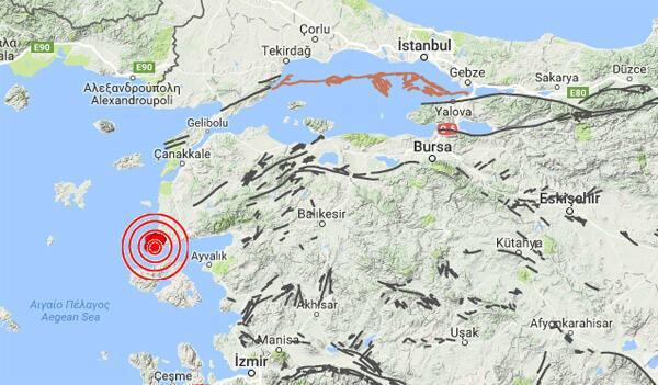 Son dakika: Çanakkalede art arda deprem Artçılar 270i aştı...