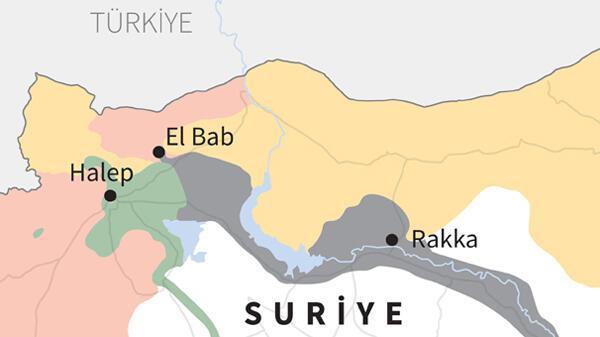Son dakika: El Bab bugün IŞİDden alındı Ve sıra o bölgede