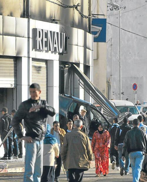 Cezayir'de açlık isyanı