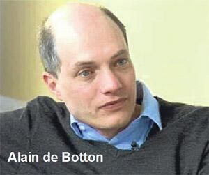 Dijital çağın filozofu de Botton'u dinlerken...