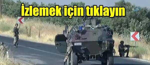 Diyarbakırda askeri araca saldırı: 2 şehit, 4 yaralı