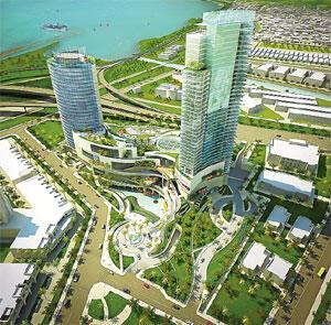 İstanbul'un dört yanına merkez rezidans