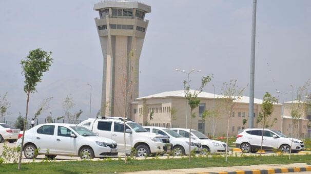 Selahaddin Eyyubi Havalimanında uçuşlar iptal