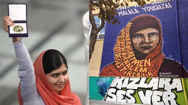 Nobel ödülü alan en genç kişi: Malala Yousafzai