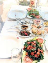 Mersin'de farklı bir balık lokantası