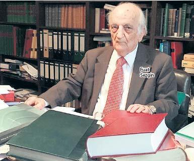 Fuat Sezgin'in kitapları için bakanlık devrede