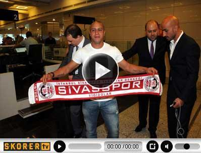 Roberto Carlosa İstanbulda müthiş karşılama
