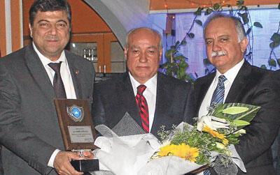 İşadamı Halil Atila'ya başkanlar sahip çıktı