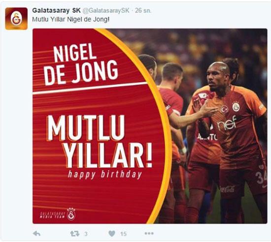 Galatasaraydan skandal doğum günü kutlaması