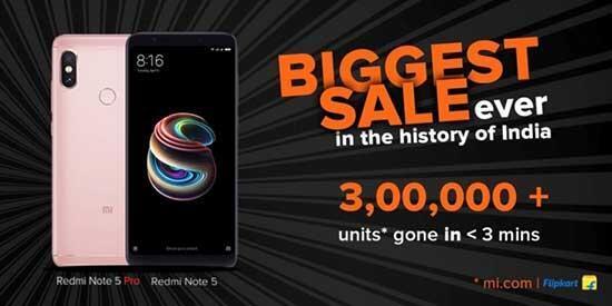 Xiaomi Redmi Not 5 Pronun stokları saniyeler içinde tükendi