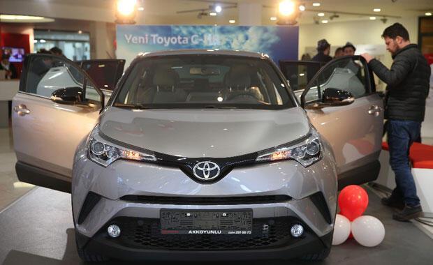 Toyota C-HR, Bursa OtoShowda tanıtıldı