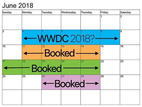 Appleın WWDC 2018 etkinliğinin tarihi belli oldu