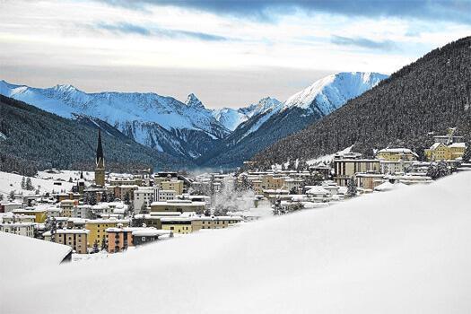 İlk kez Davos'ta Türk olmanın keyfini yaşıyorum