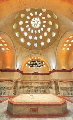Tarihin sıcak mirası Osmanlı hamamları