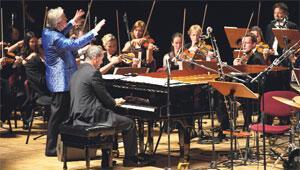 Klasik müzik, caz atışması...