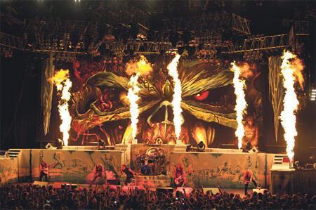 Iron Maiden kulisinden notlar