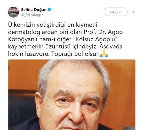 Ünlü doktor Kolsuz Agop hayatını kaybetti