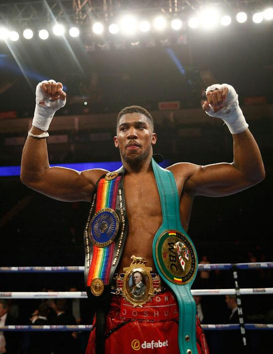 Anthony Joshua WBC) ağır sıklet unvan maçında Dillian Whyteı nakavtla  yendi