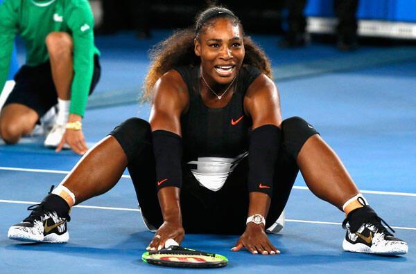 Avustralya Açıkta şampiyon Serena Williams