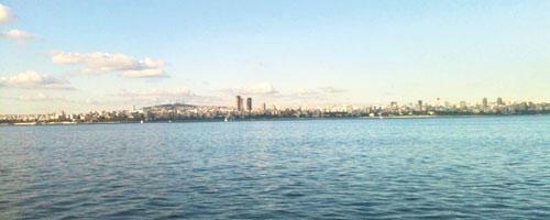 İstanbul'a bakıyorum, gözlerim faltaşı
