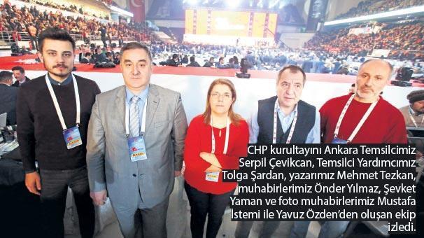 Kılıçdaroğlu beşinci kez genel başkan