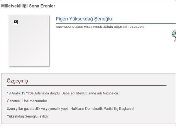 Son Dakika: HDP Eş Genel Başkanı Figen Yüksekdağın milletvekilliği düştü