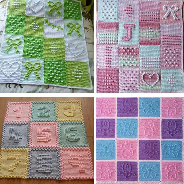 Bebek battaniyeleri (En güzel örgü bebek battaniye modelleri)