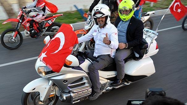 Dışişleri Bakanı Çavuşoğlu böyle karşılandı