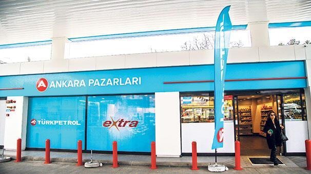 TÜRKPETROL ile  Ankara Pazarları  sahalara döndü